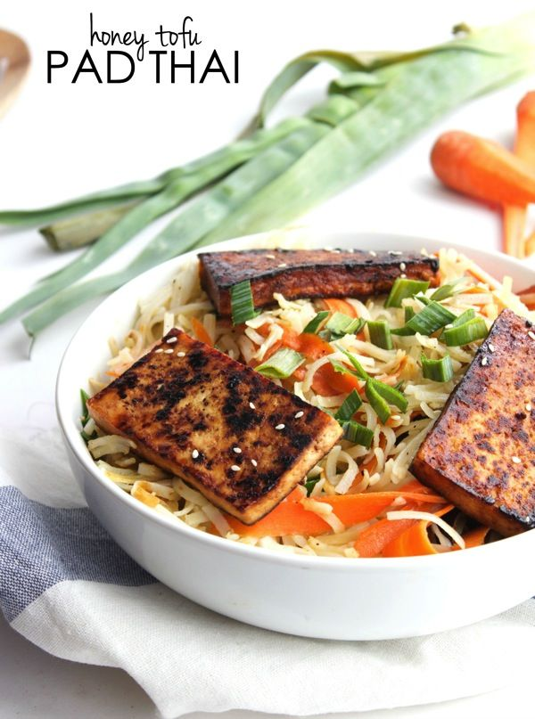 Honey Tofu Pad Thai