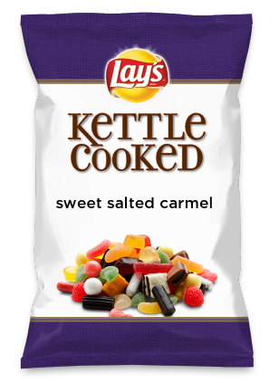 Wouldn't sweet salted carmel be yummy as a chip? Lay's Do Us A Flavor is back, and the search is on for the yummiest flavor idea. Create a flavor, choose a chip and you could win $1 million! https://www.dousaflavor.com See Rules.