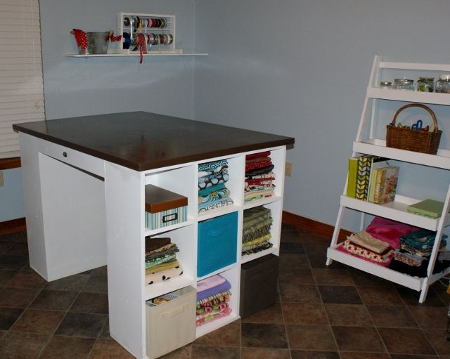 My new sewing table do it yourself home projects from ana white my new sewing table do it yourself home projects from ana white solutioingenieria Gallery