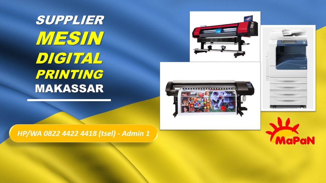 Pusat Digital Printing Makassar Jual Mesin Digital Printing Fuji