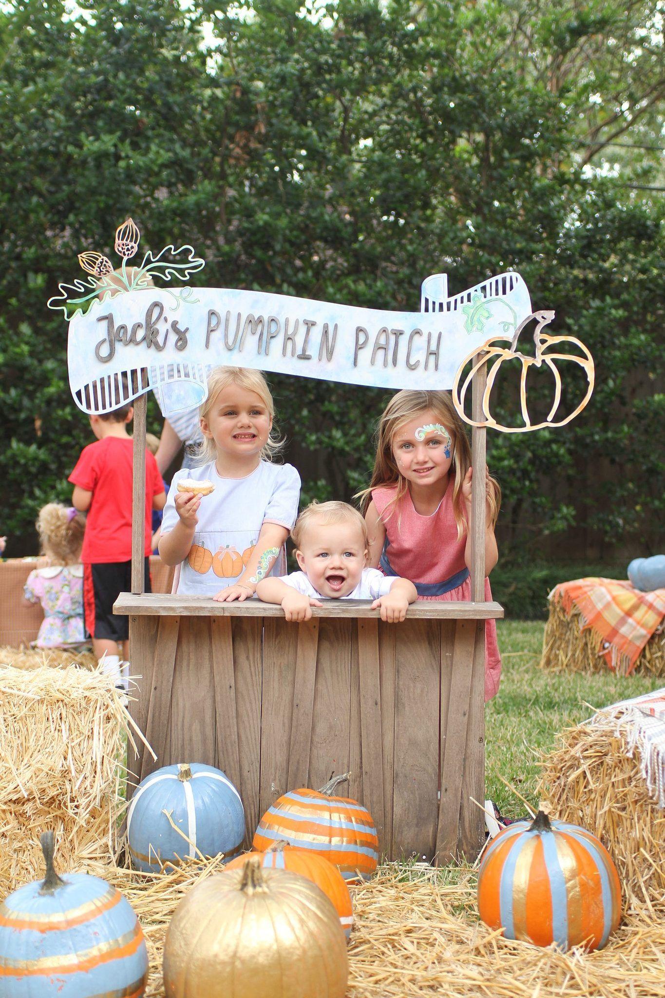 pumpkin patch kids birthday party