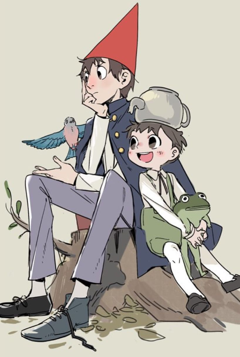Over the garden wall art style  Pin by beth  on Over the Garden Wall  Pinterest