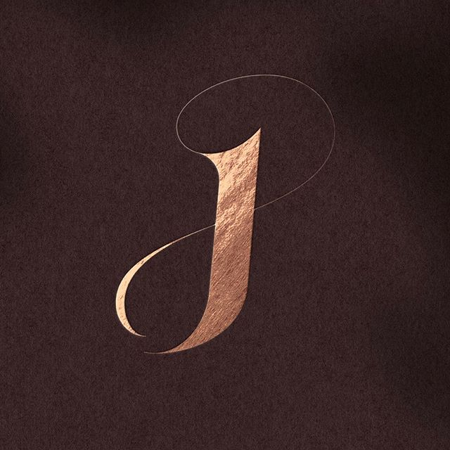 dj jd monogram logo by hope meng design hopemengdesign www hopemeng com lettering letter d in 2020 letter logo design logo design graphic design branding pinterest