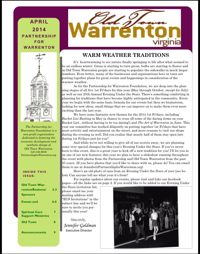 Contact Us Warrenton Organization Planning Old Town