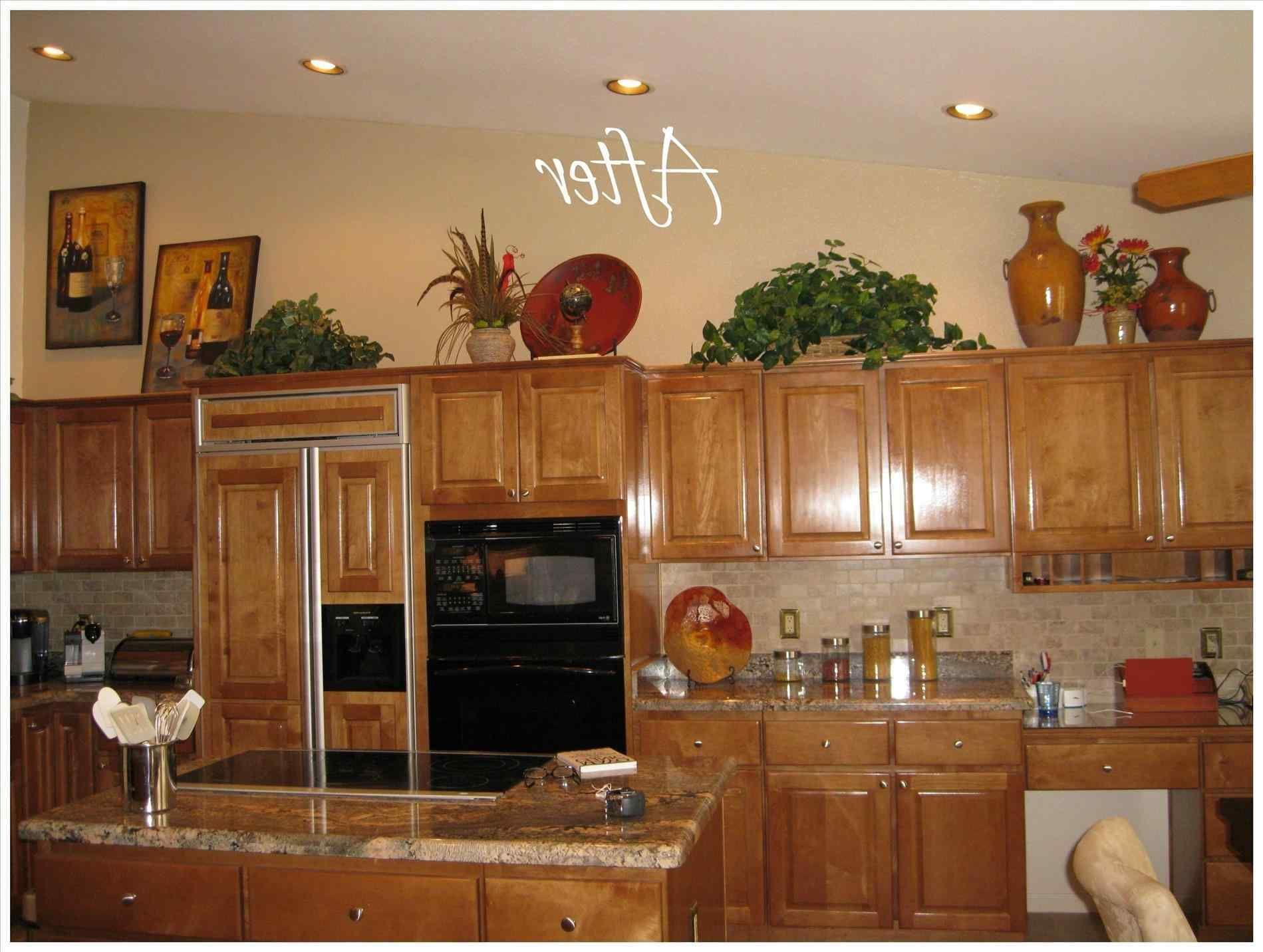 How To Decorate Top Of Kitchen Cabinets Pinterest Google Search Above Kitchen Cabinets Top Kitchen Cabinets Decor Decorating Above Kitchen Cabinets