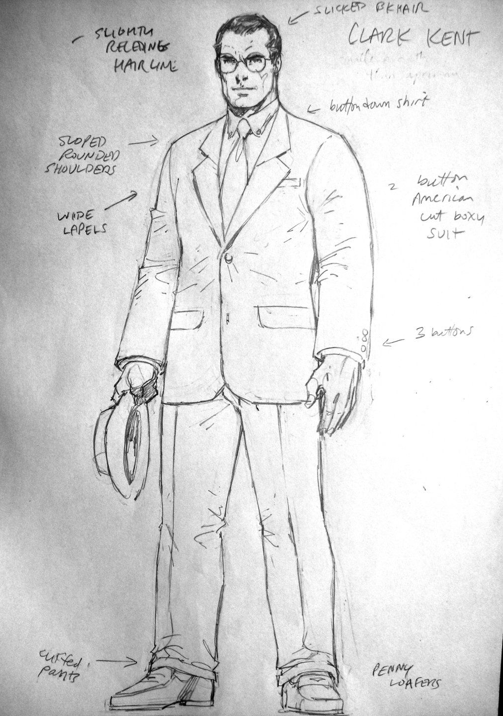 This is a picture of Fan Clark Kent Drawing