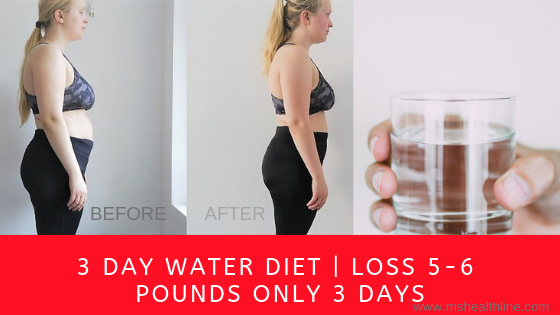 how much weight can i lose in 3 day water fast