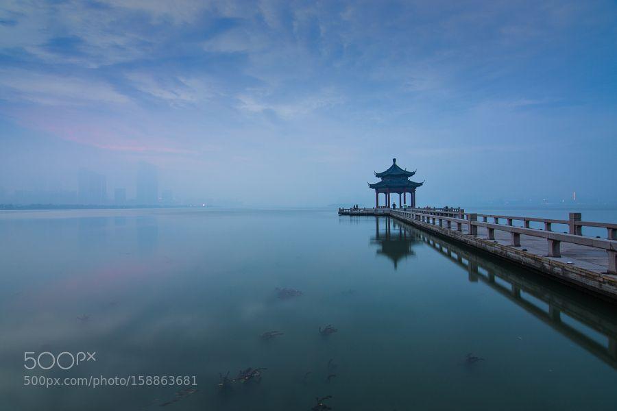 Mid Lake Pavilion by mrcamera1. @go4fotos