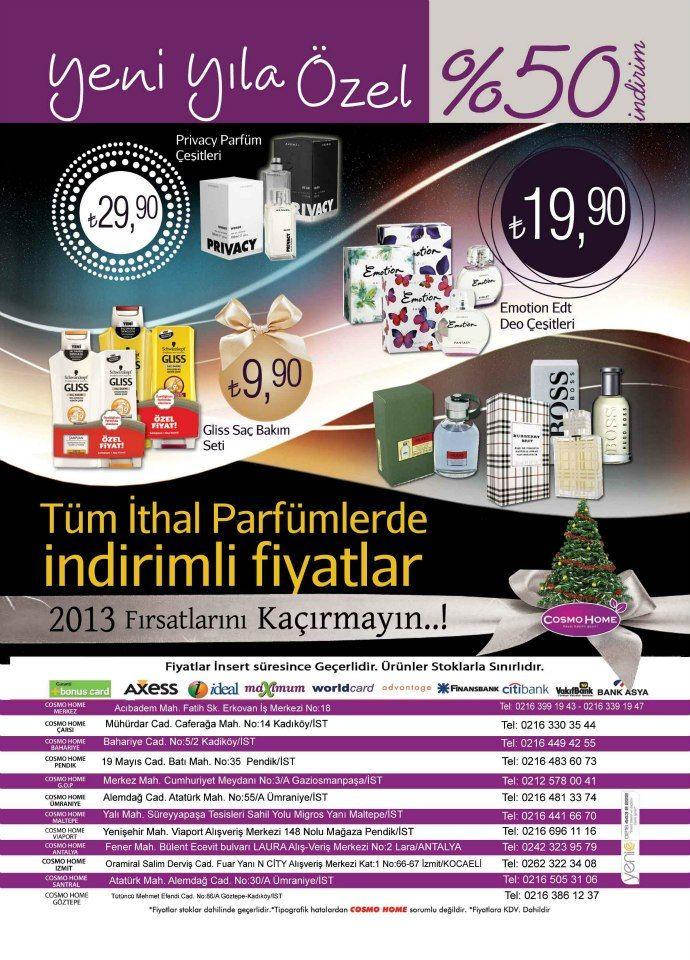Ve Tum Ithal Parfumlerde Indirimli Fiyatlar Kozmetik Cosmetic