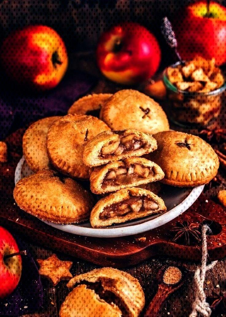 Hand Pies (vegane Mini-Apfelkuchen) - Bianca Zapatka | Rezepte - Apfel - Rezepte und mehr...Apfel H