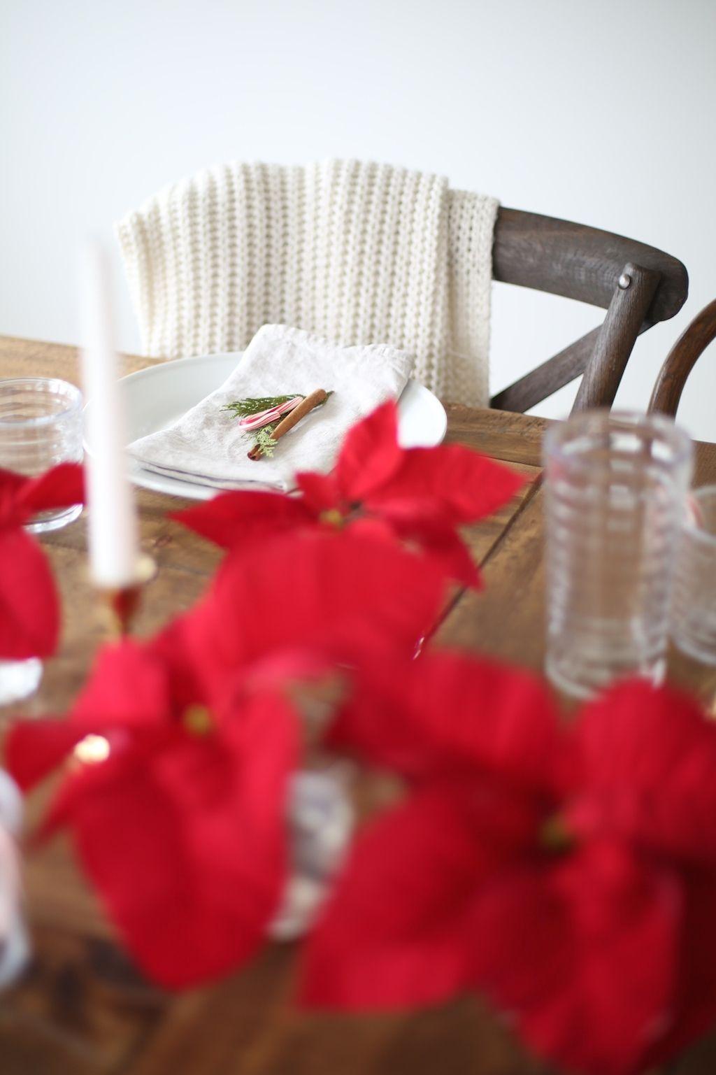Southern Living Christmas entertaining & table setting from entertaining expert Julie Blanner
