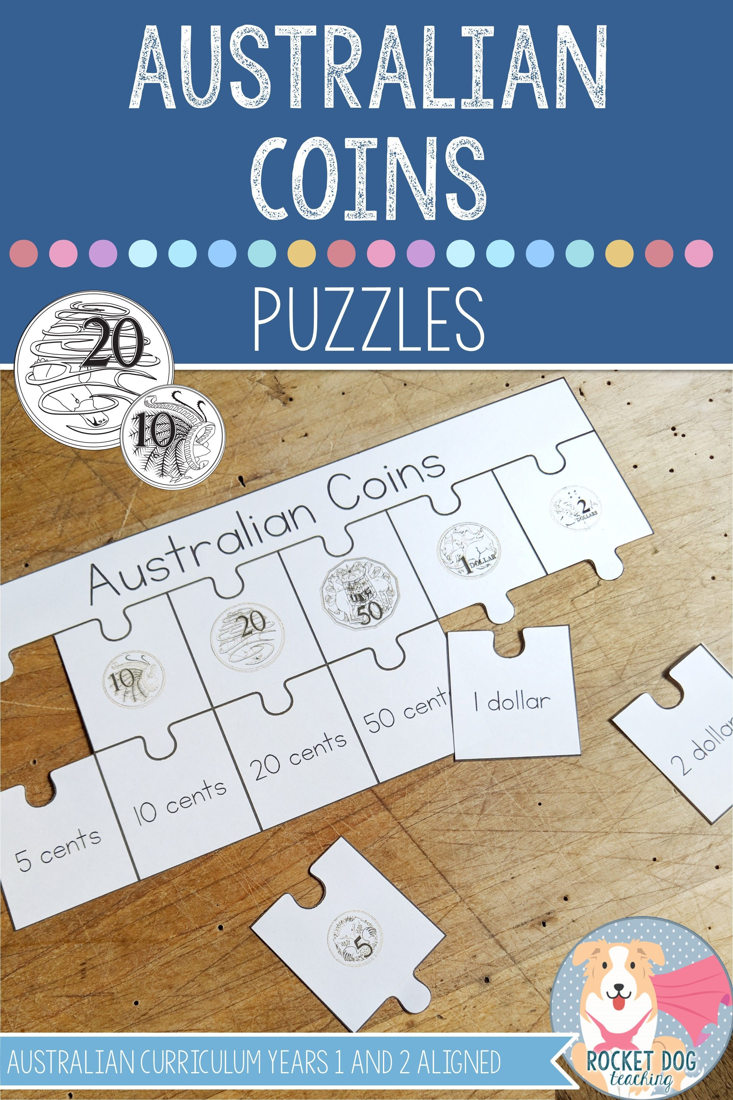 Matching And Ordering Australian Coins In A Number Of