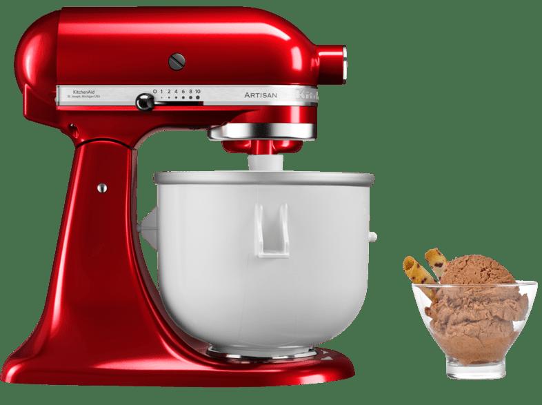 Mediamarkt Kitchenaid Kitchenaid Bundleicecreamer Eiscreme Set Kuchenmaschine Speiseeismaschine 300 Wa Speiseeismaschine Kuchenhilfe Eiscreme