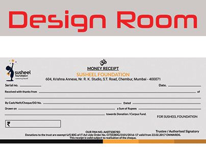 Check out new work on my @Behance portfolio  - money receipt design