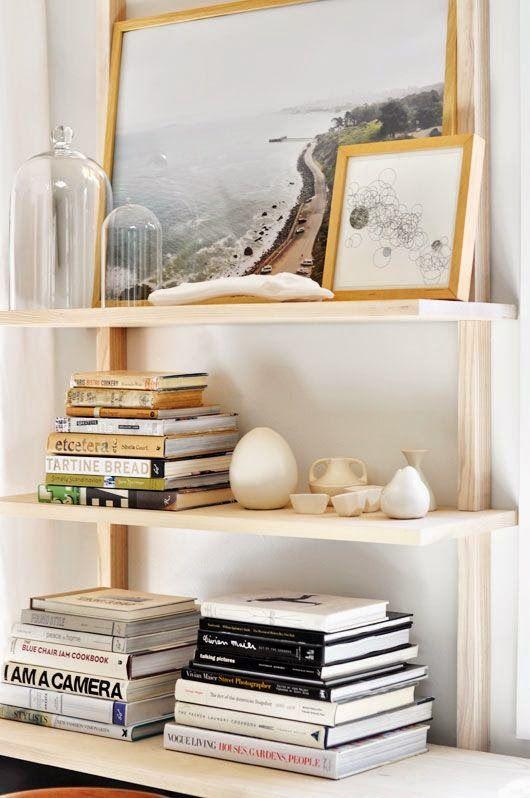 Creating A Beach House Bookshelf