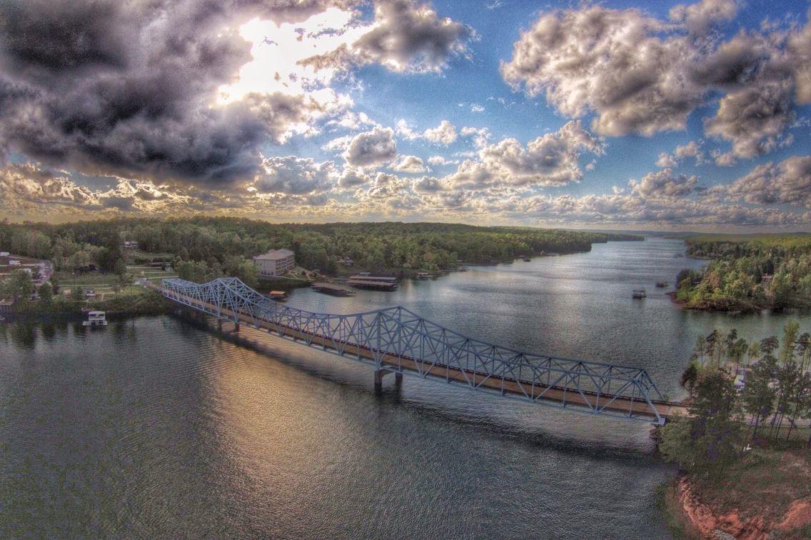 Duncan Bridge on Lewis Smith Lake.