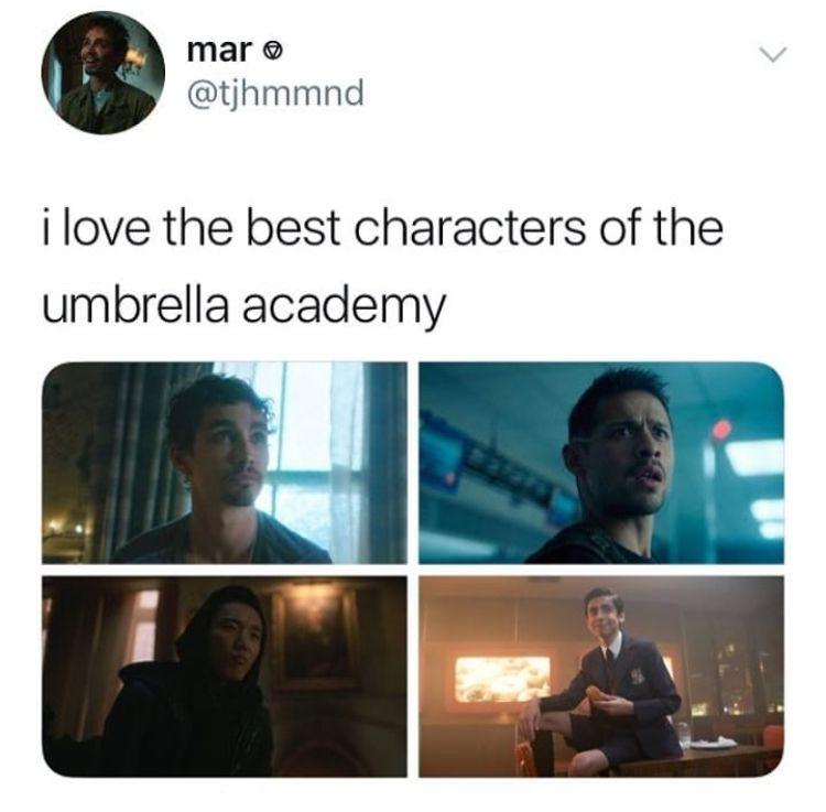 Except Vanya Replaces Diego Sorry Diego Umbrella Funny Umbrella Academy