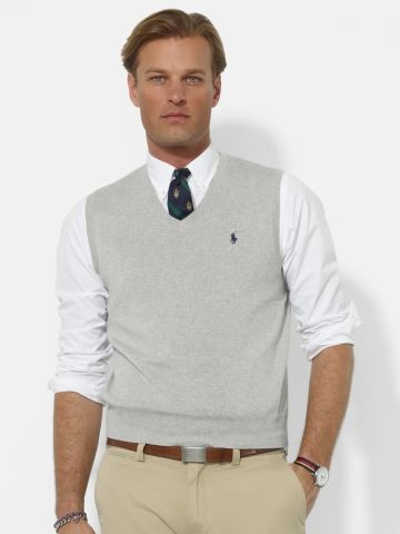 Ralph Lauren Mens Core Sweater Vest