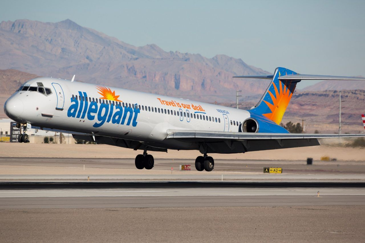Allegiant Air Fleet McDonnell Douglas MD83 Aircraft