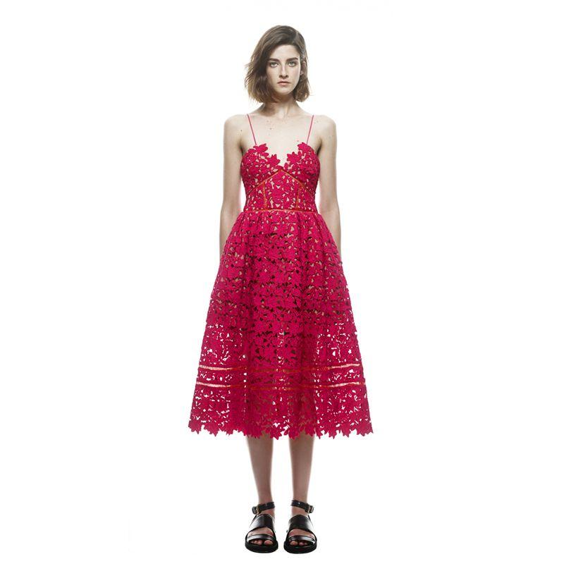 ... from China clothes california Suppliers  Designer Runway Dress Women s  Sexy Spaghetti Strap Lace Mid-calf Dress Size XS-XXL Crochet V Neck  Backless Self ... a57e5211e1b6