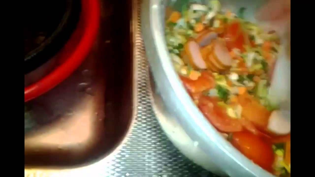 koken met rijstkoker