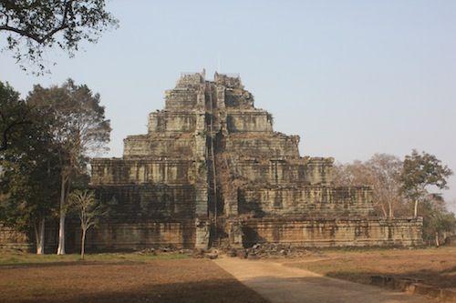 Prasat Thom at Koh Ker in Cambodia  Date: late 9th century, Reign: Jayavarman IV