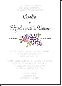 Beautiful Wedding Announcements.Beautiful Wedding Announcements 40 One Sided Beautiful Wedding