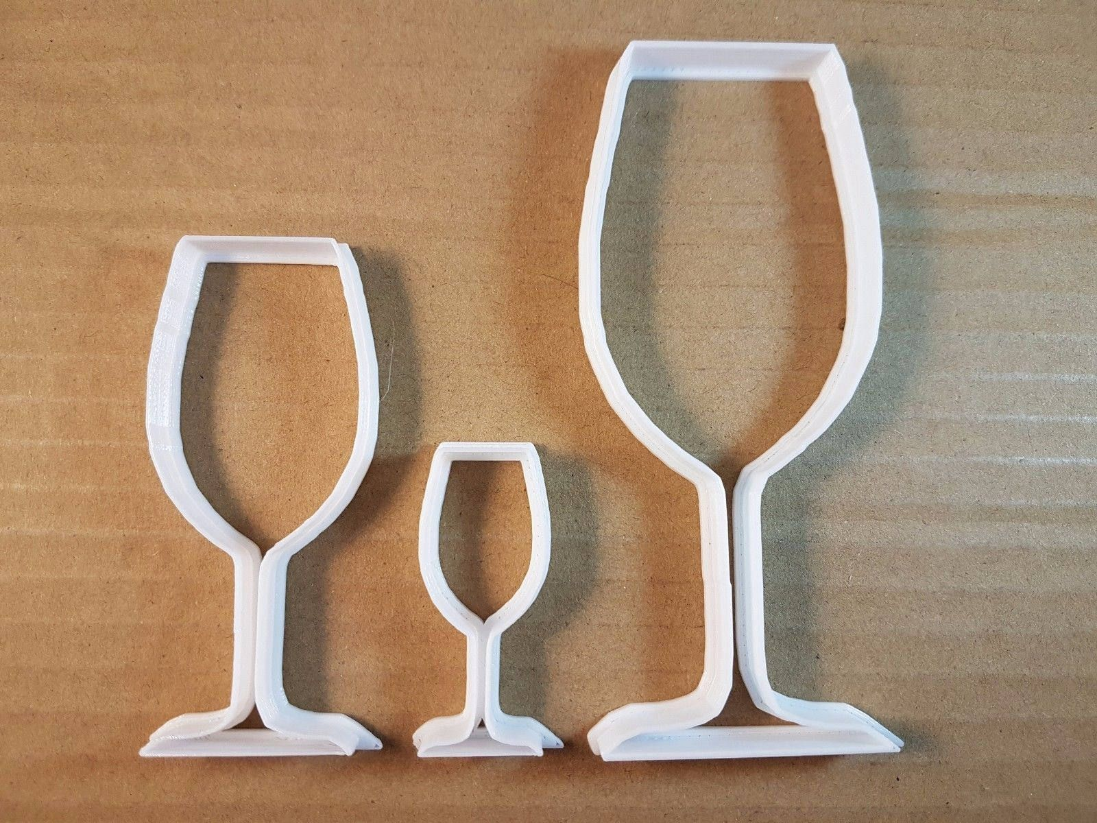 Celebration champagne wine glass cookie fondant// sugar craft biscuit cutter