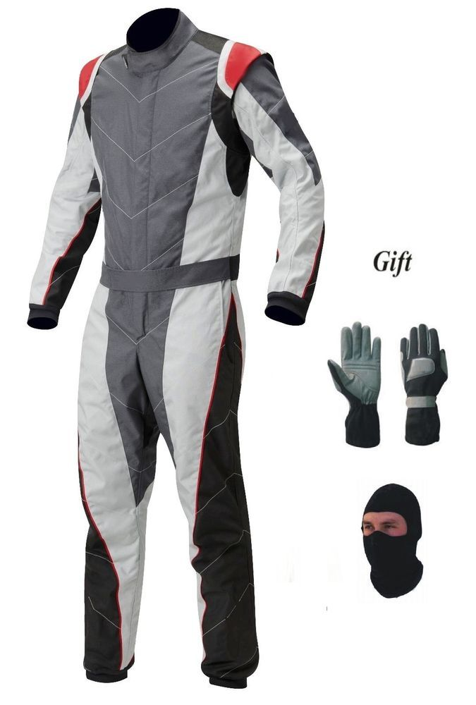 New Go Kart Race Suit Pack With Free Balaclava And Gloves Handmade Handmade Races Outfit Racing Suit Suits