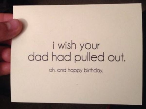 Birthday Cards That Are More Interested In Being A Troll 21 Photos