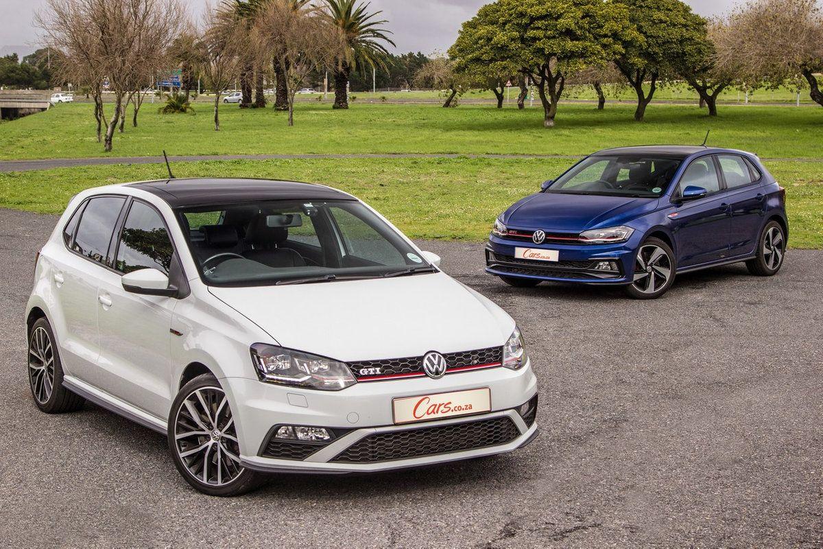 Volkswagen Polo Gti Old Vs New Cars Co Za Volkswagen Polo Gti Polo Gti Volkswagen Polo