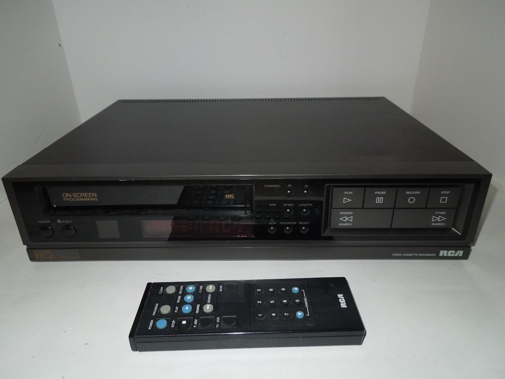 Details about SANYO VWM-390 4 Head VCR with Original Remote