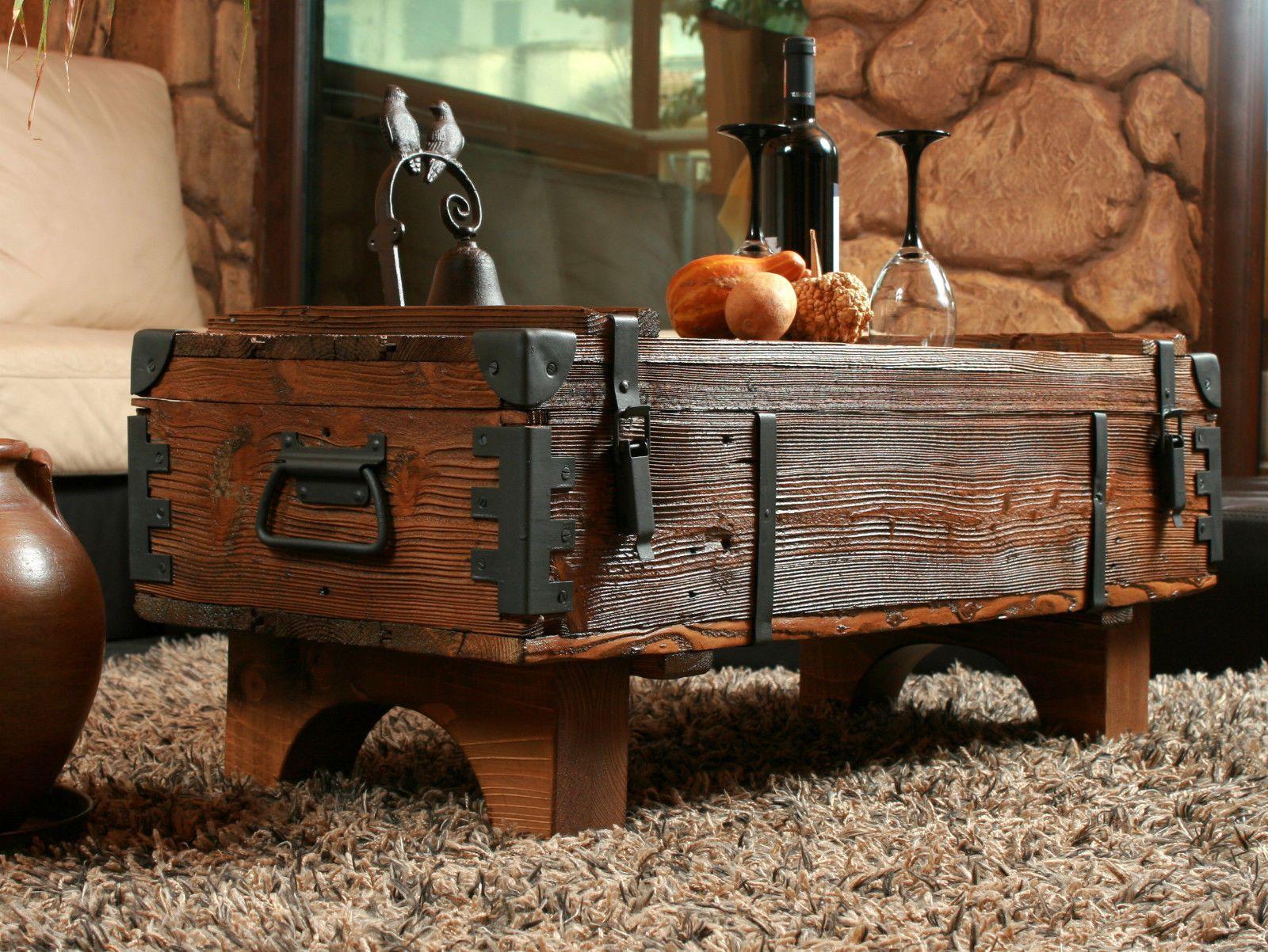 Alte Truhe Kiste Tisch Shabby Chic Holz Beistelltisch Holztruhe Couchtisch 16 Ebay Holztruhe Alte Truhe Couchtisch