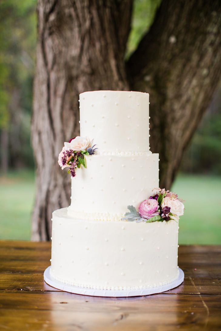 Fresh Fall-Flower Cake Topper