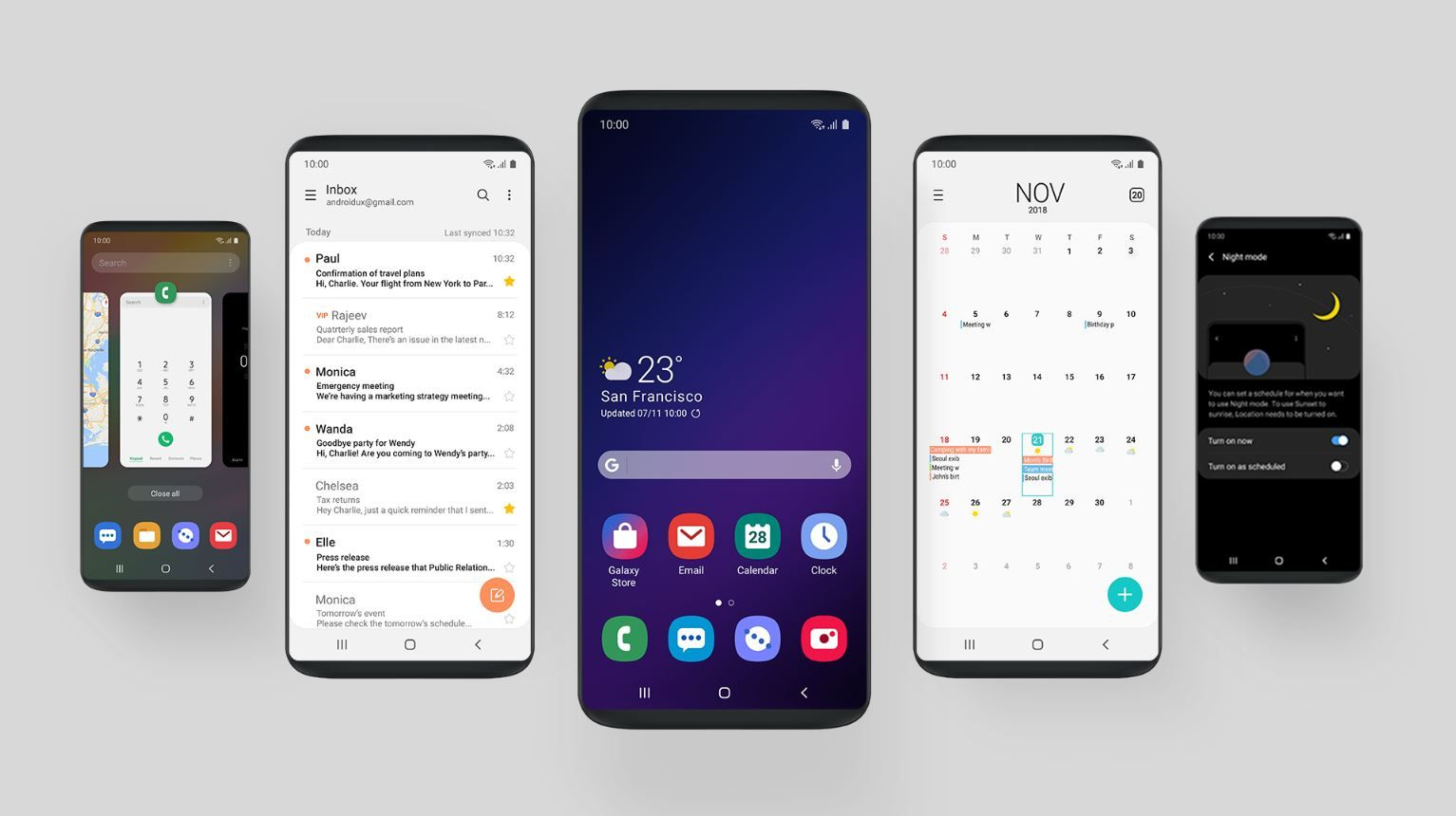 Top 5 Best Android User Interface Skins Of 2019 Samsung Best Android Transparent Phone Case