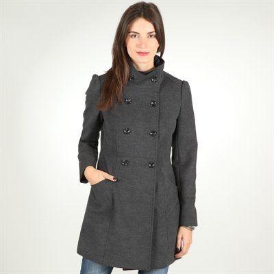 Abrigo gris antracita