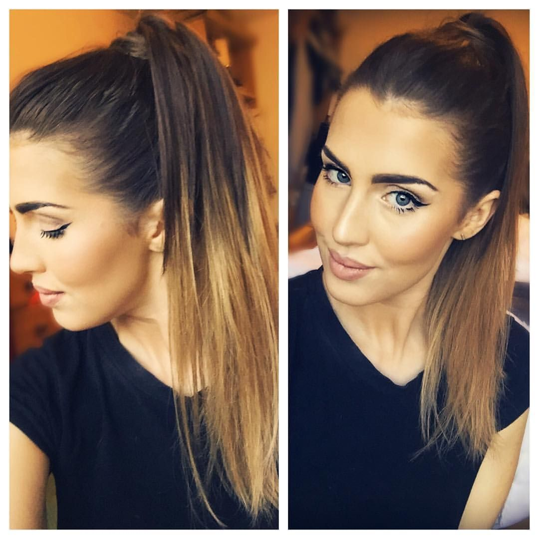 Lara Foxy Locks On Instagram High Pony Tails As Usual Wearing My