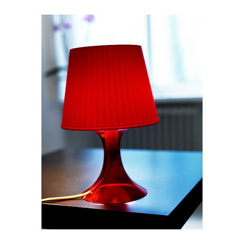 Lampan table lamp red ikea bedroom pinterest bedrooms lampan table lamp red ikea aloadofball Image collections