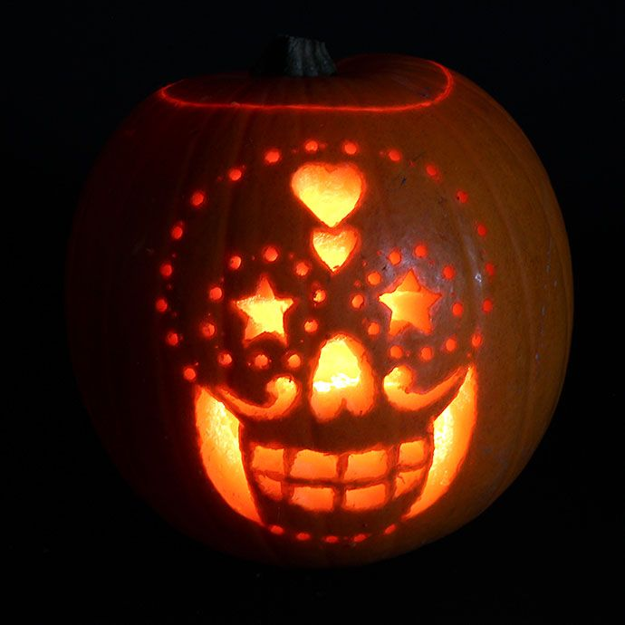 Easy pumpkin carving ideas with stencils fall