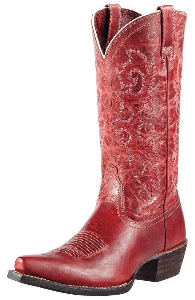 Ariat Womens Alabama Cowboy Boots - Redwood $199.95 | Boots ...