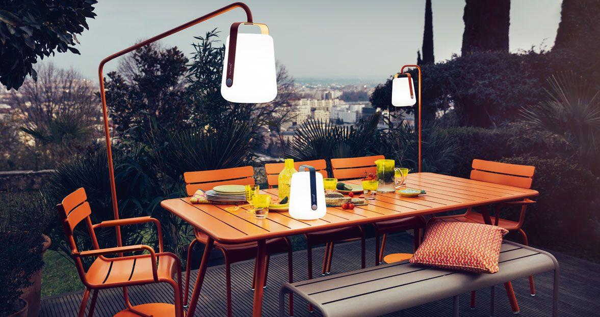 mobilier de jardin table de jardin lampe design | Dehors | Pinterest ...
