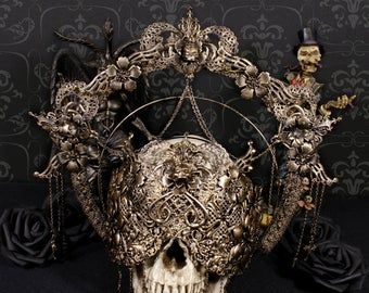 MACABRE & FANTASY LUXURY COUTURE by MemoriaObscura on Etsy