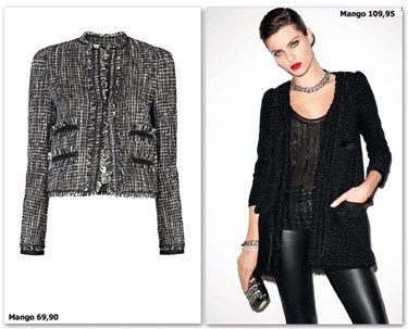 Chaquetas estilo Chanel  Zara 5686b6171b9be