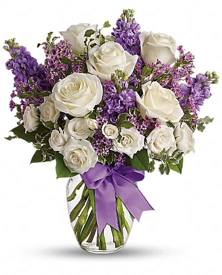 Teleflora S Enchanted Cottage White Floral Arrangements Floral Arrangements Flower Arrangements