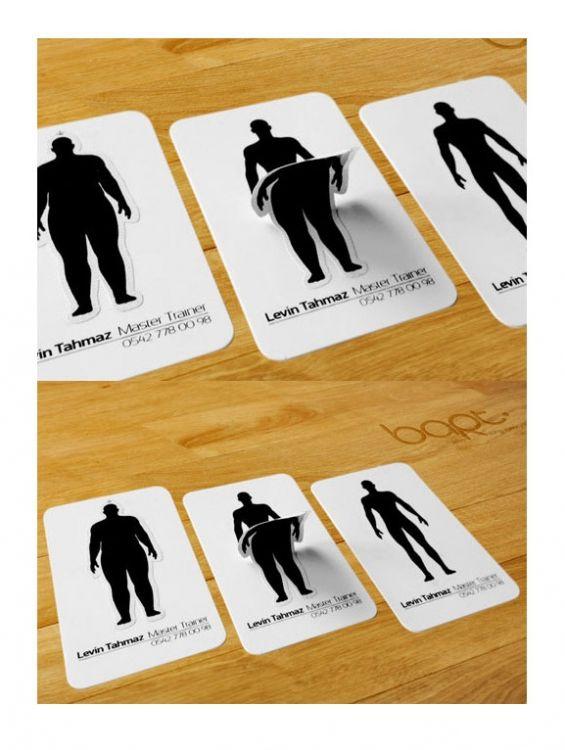 Diseño de Tarjetas de presentación para Levin Thamaz   muy creativas - tarjetas creativas