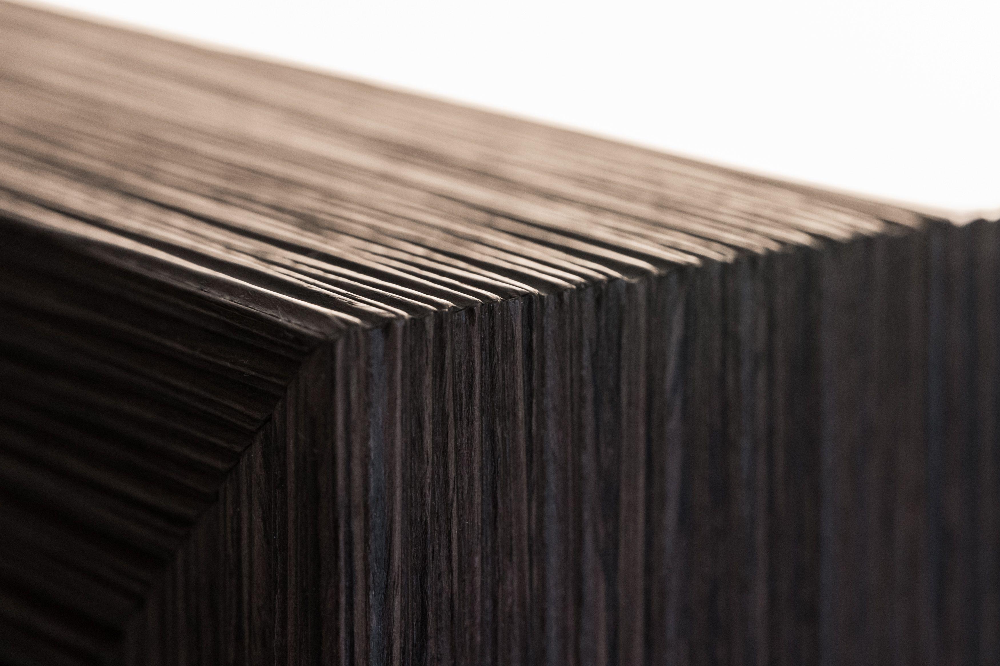 Schränke, Türen und Wände in Eiche geräuchert | Innenausbau | Pinterest