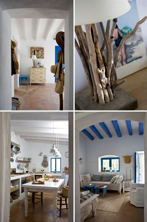 A Beautiful Spanish Summer House The Style Files Beach House