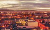 See the Dublin skyline at dusk