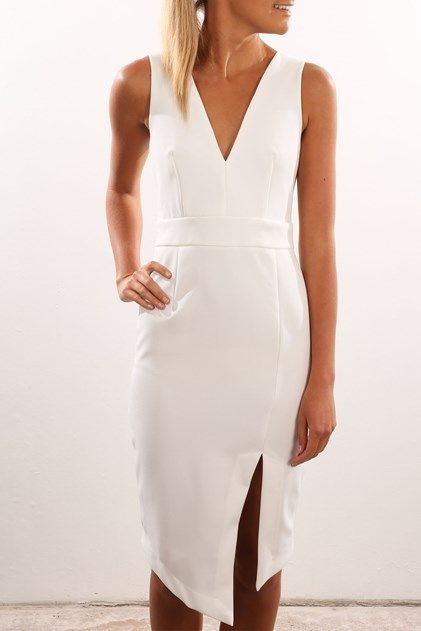 Apple Of My Eye Dress White