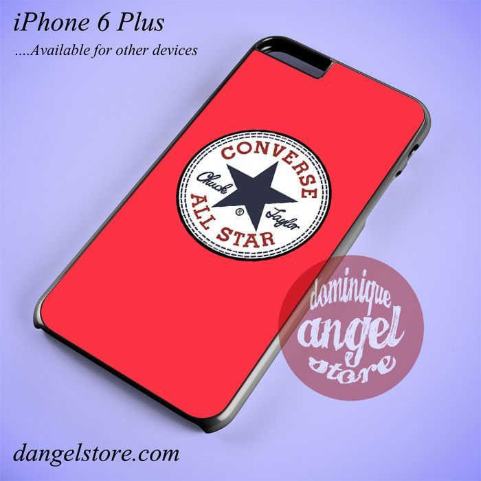 light red converse Phone case for iPhone 6 Plus and another iPhone devices